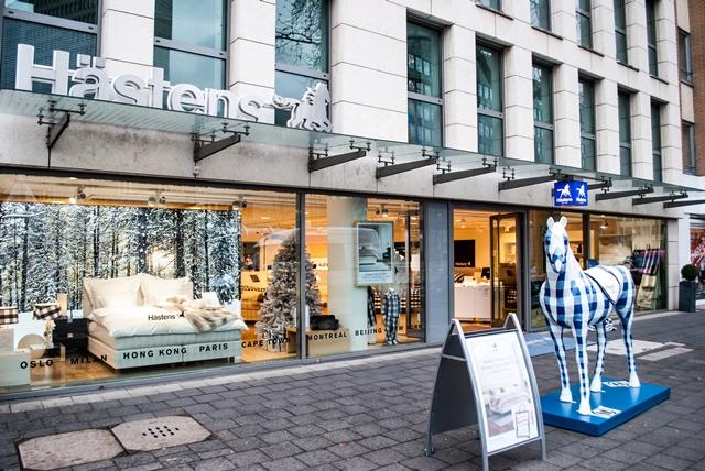 Hästens & Kuperus Shop in Shop by Somnar Köln