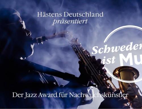 Hästens Jazz Award am 09.11. in Düsseldorf und am 17.11. Köln